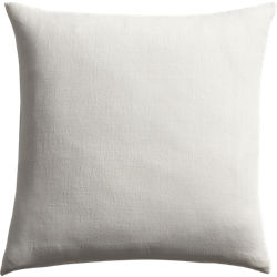 "20"" linon white pillow"