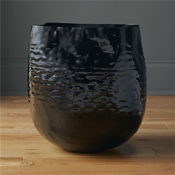 liquid small black nickel basket