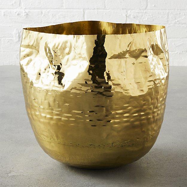 liquid large brass basket