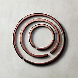3-Piece Loop Metal Trivet Set