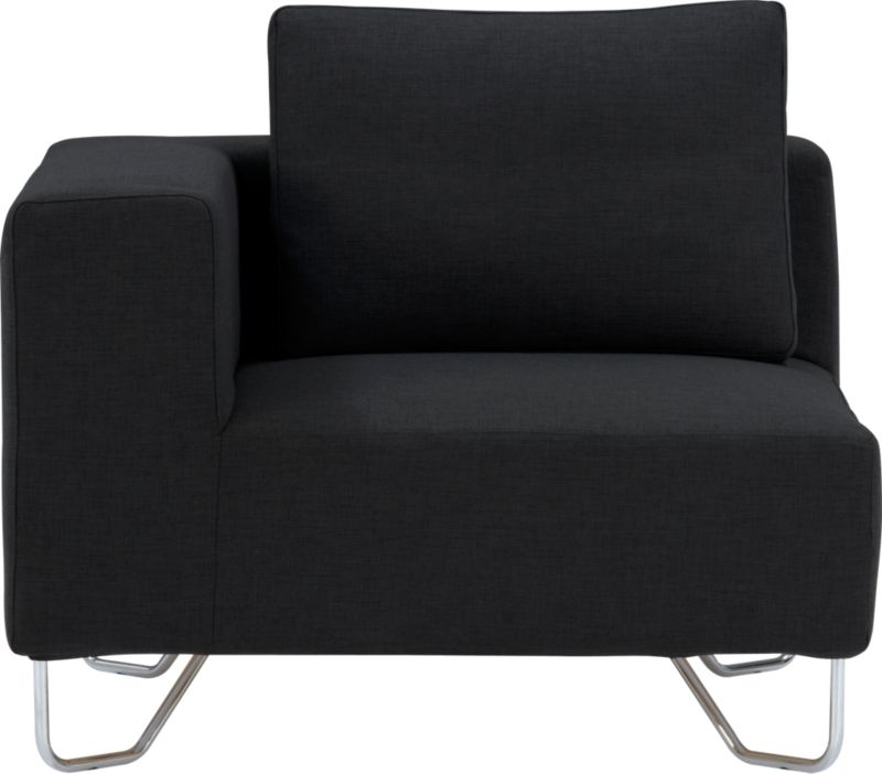 lotus antrazit corner chair