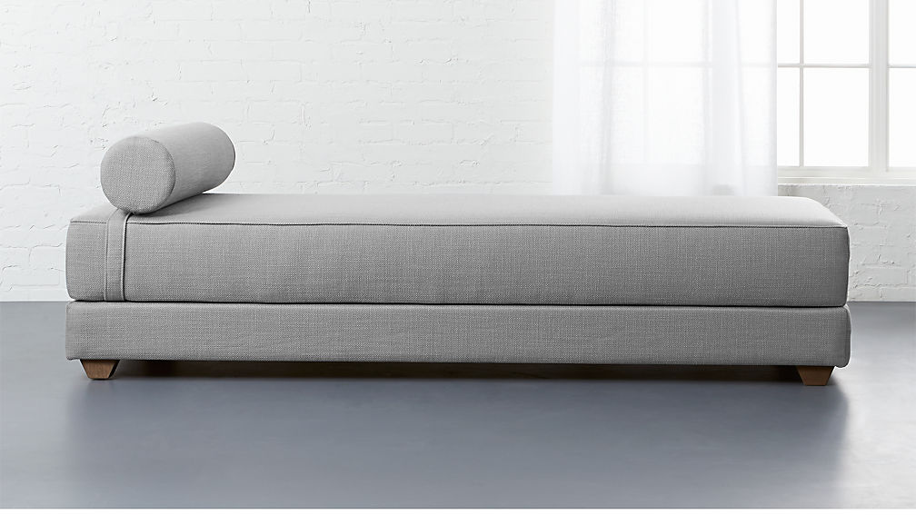Lubi Silver Grey Sleeper Daybed Cb2