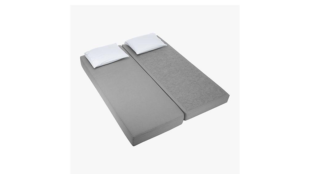 lubi silver grey sleeper daybed
