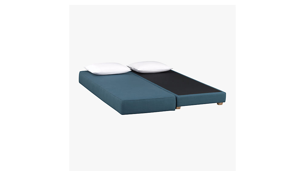 lubi turquoise sleeper daybed
