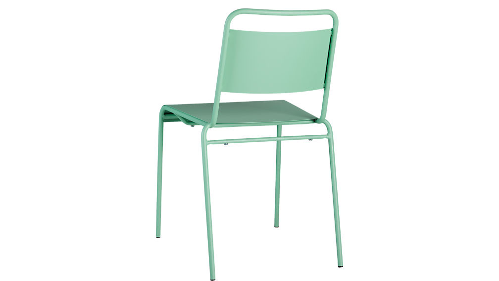 lucinda mint stacking chair