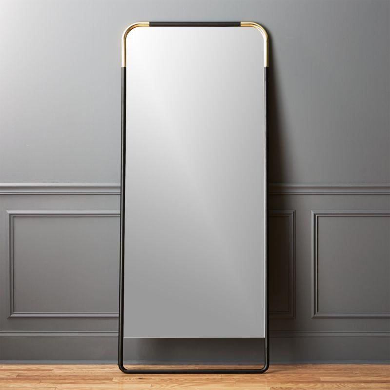 gold mirrors | CB2