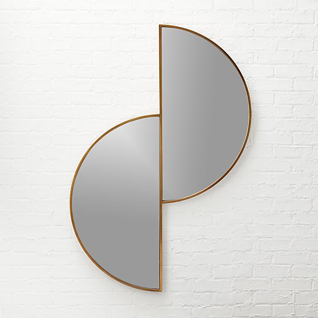 Luna Half Moon Wall Mirror