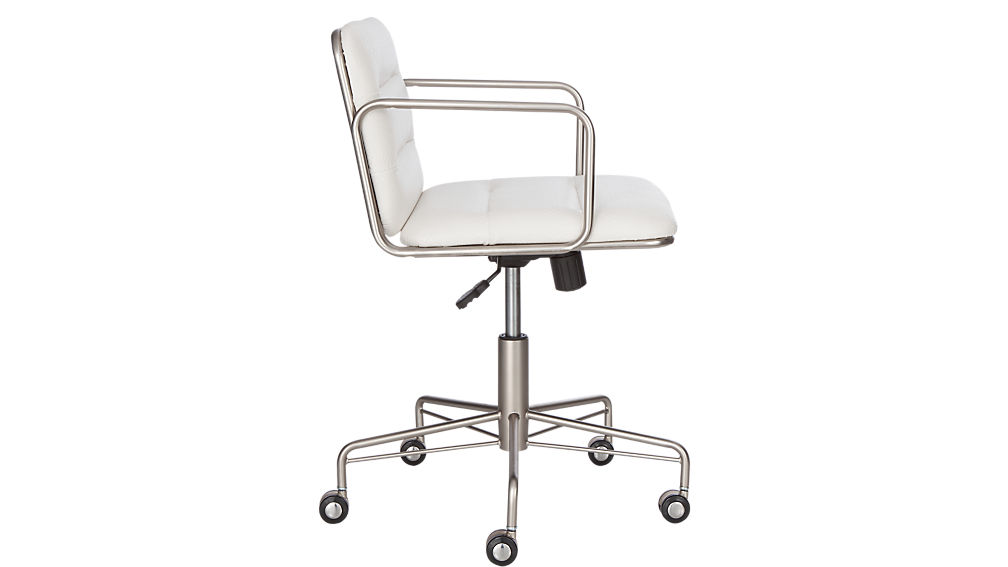 mad snakeskin office chair