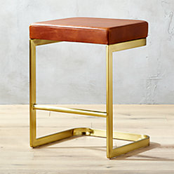 Mack Leather 30 Quot Bar Stool Reviews Cb2