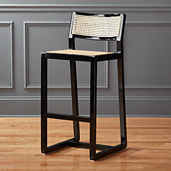 """makan 30"""" mahogany bar stool"""