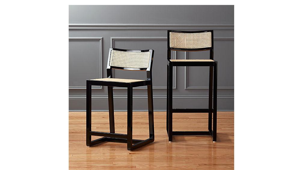 """makan 24"""" mahogany counter stool"""