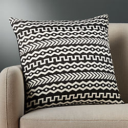 "20"" mali pillow with down-alternative insert"