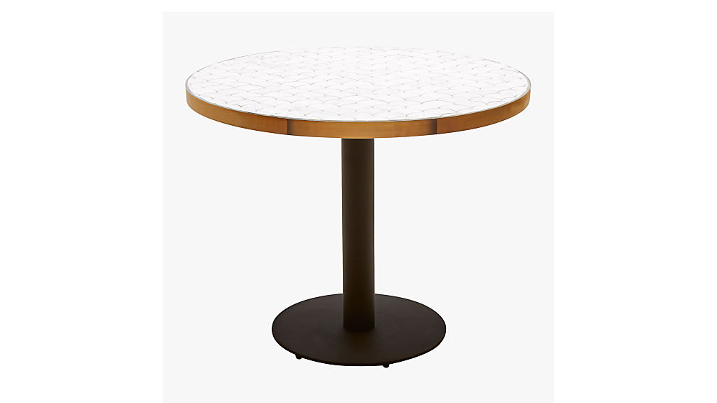 marble outdoor bistro table