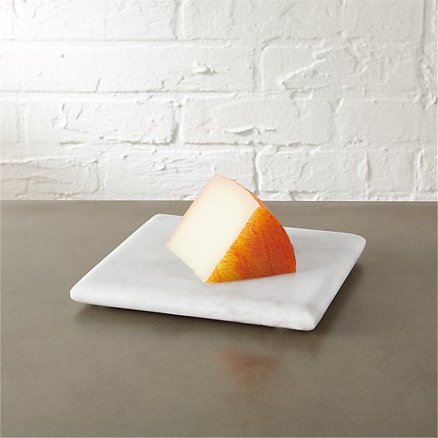 square marble cheese server