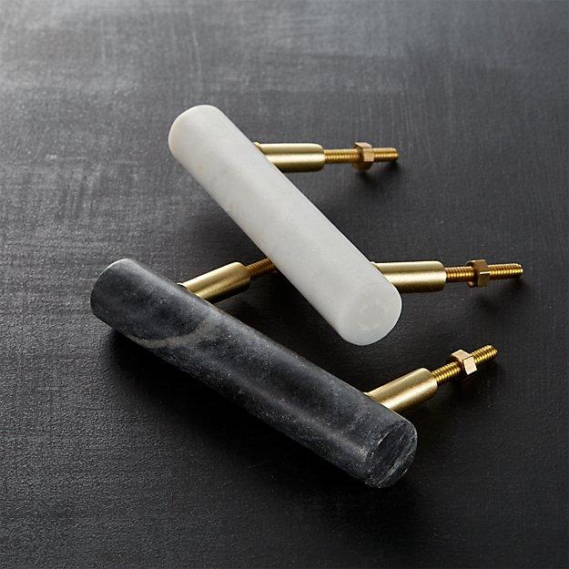 marble handles