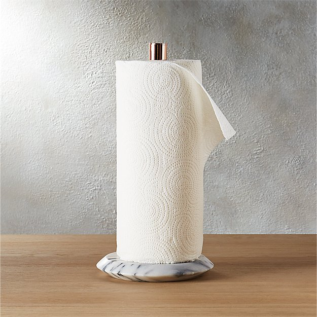 Marble Paper Towel Holder Reviews Cb2