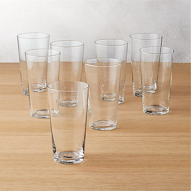 set of 8 marta juice glasses