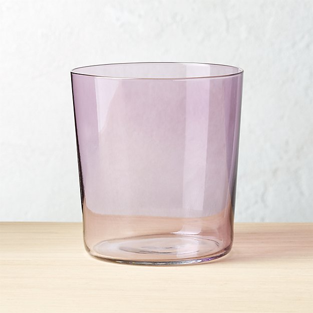 Marta Lilac Double-Old Fashioned Glass