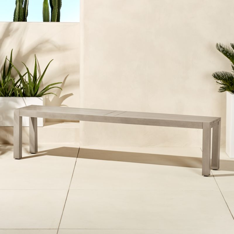 American Family Furniture Warehouse: Matera Large Grey Dining Bench + Reviews