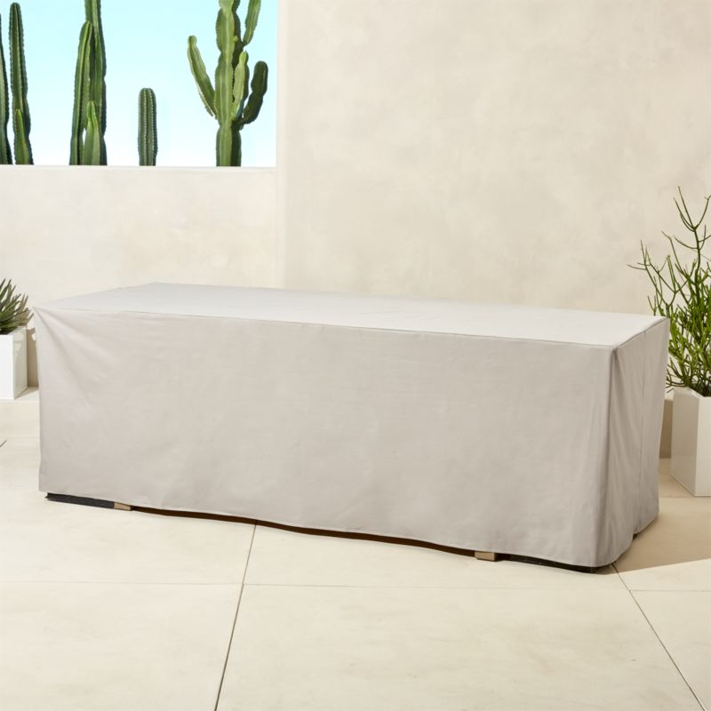 Matera Waterproof Large Dining Table Cover Reviews Cb2