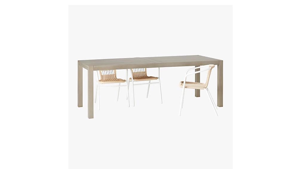 matera large grey outdoor dining table CB2 : MateraDiningTableLarge3QAVS17 from www.cb2.com size 1008 x 567 jpeg 36kB