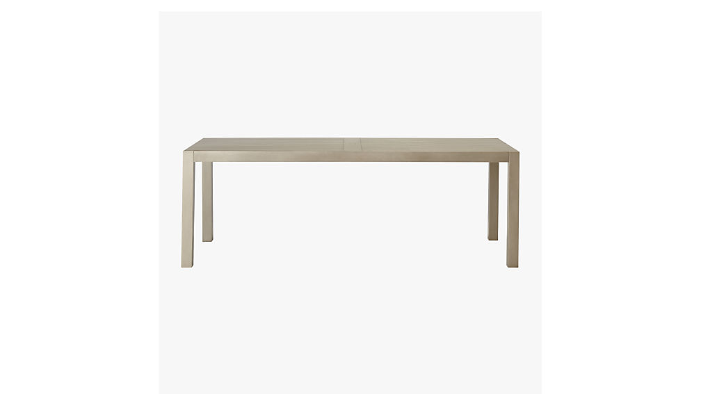 matera large grey outdoor dining table