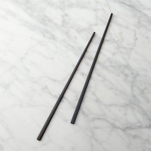 Matte Black Chopsticks