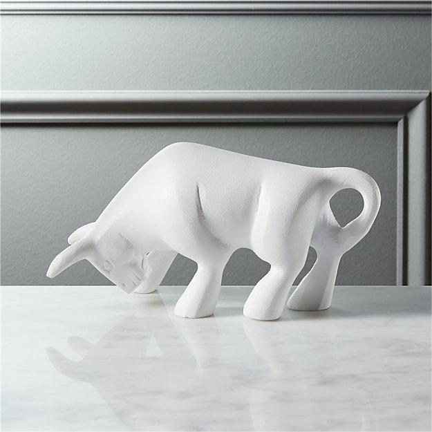 matty the white bull