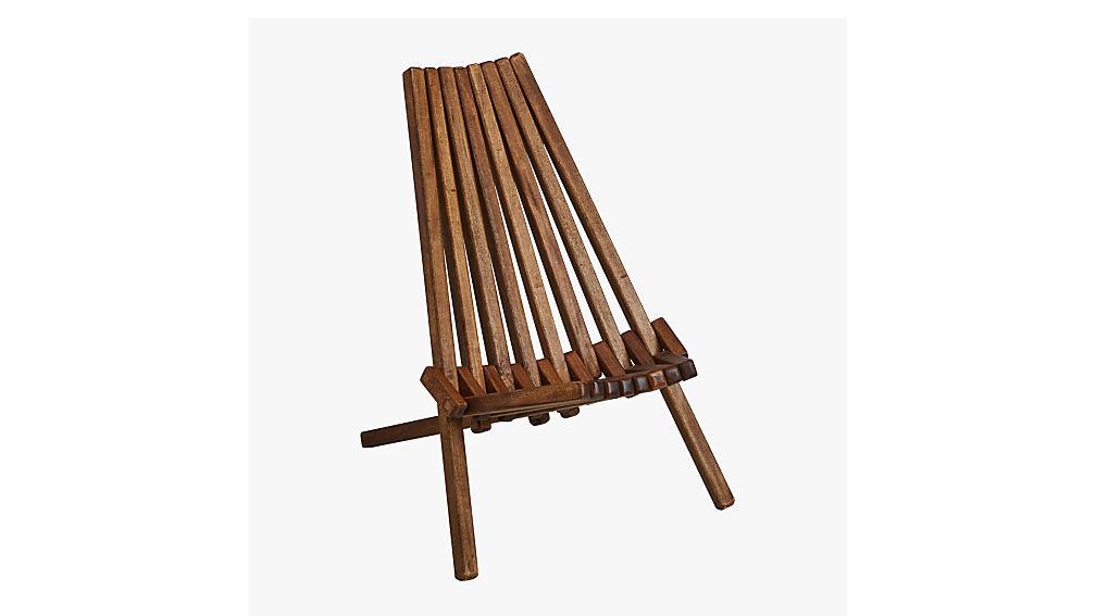 maya wood outdoor chair