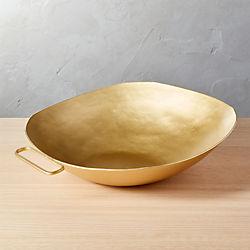 Melrose Gold Serving Bowl