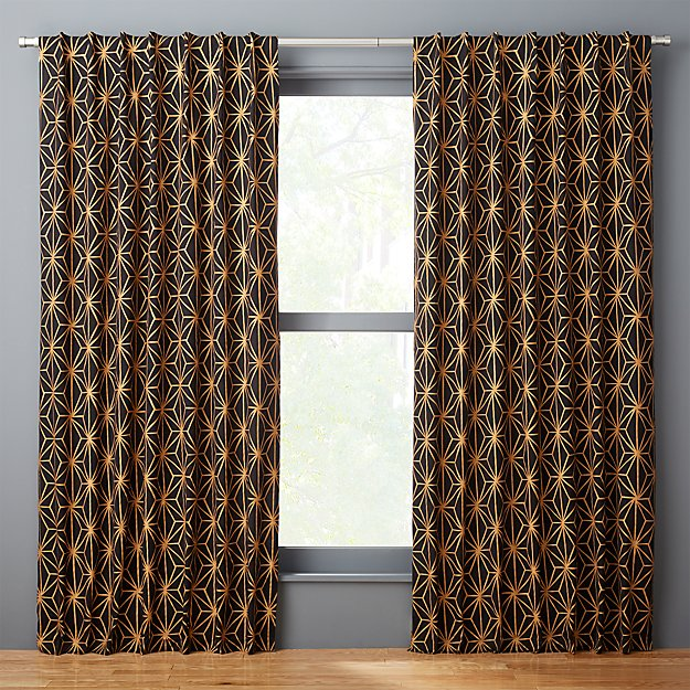 melrose curtain panel | CB2