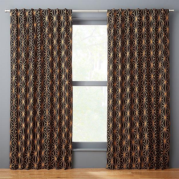 melrose curtain panel