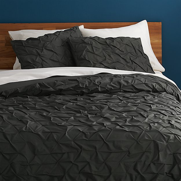 melyssa carbon full/queen duvet cover