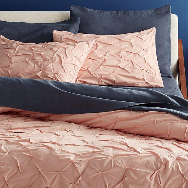 melyssa dusty pink king duvet cover