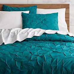 melyssa teal bed linens