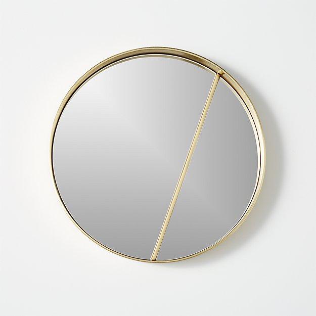 "meridian 18"" round mirror"