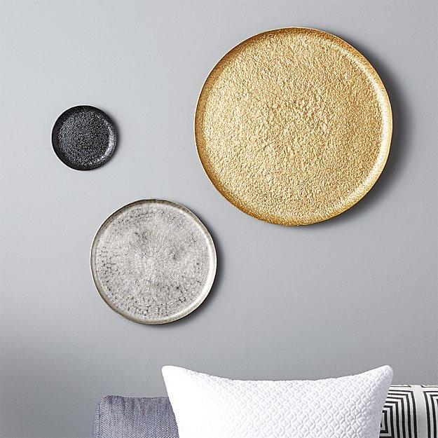 3-piece metal wall plate set