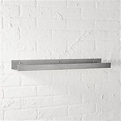View larger image of metal aluminum wall shelf 24