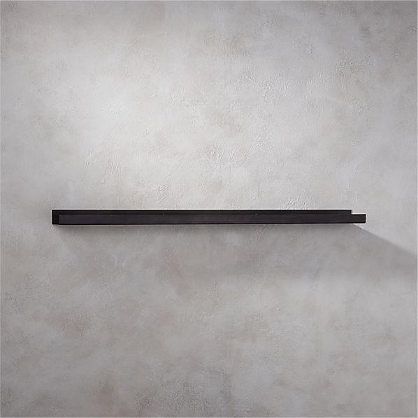 MetalWallShelfGunmetal48inROF16
