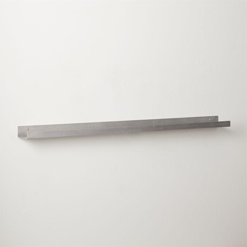 metal aluminum wall shelf