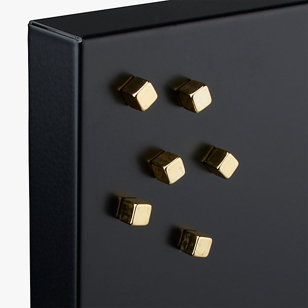 set of 6 mighty gold magnets