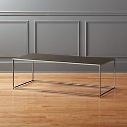mill large grey coffee table
