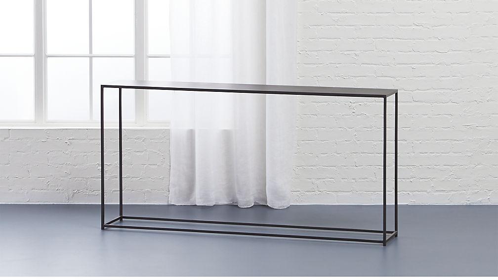 Tall Narrow Console Table Uk Brokeasshome Com