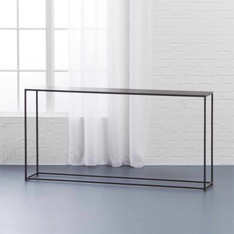 Mill Narrow Console Table + Reviews