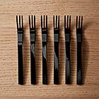 MiniBlackCocktailForksS6SHS17