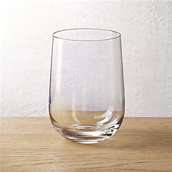 mirage iridescent stemless wine-double old-fashioned glass