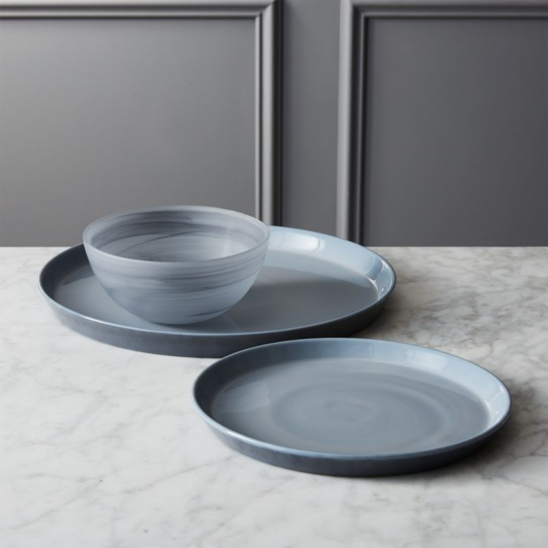 mist dinnerware : CB2