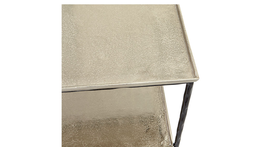 molten metal console table
