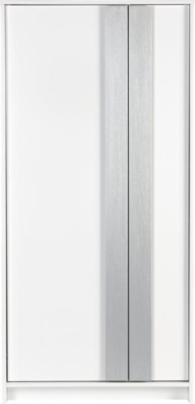 monolith white wardrobe