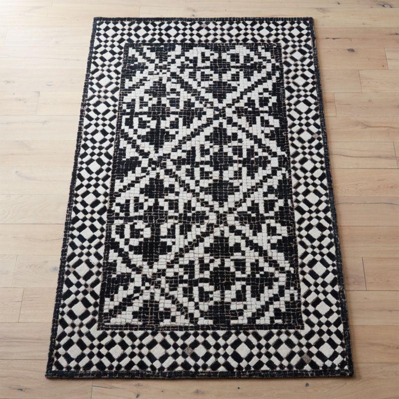 Montage Mosaic Tile Rug